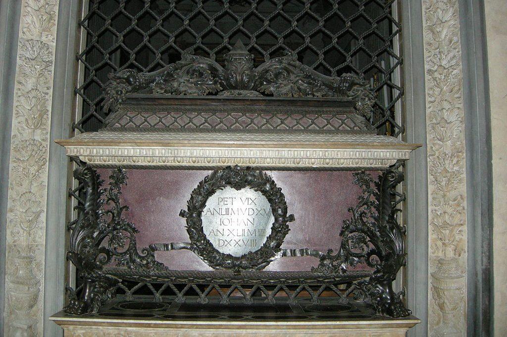 tomb of piero de medici